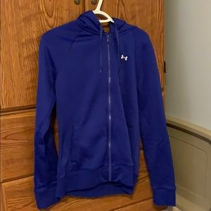 Ladies Under Armour Zip Up Hoody.  Size Medium
